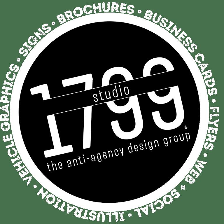 Studio 1799 | the anti-agency design group - Stamp Logo