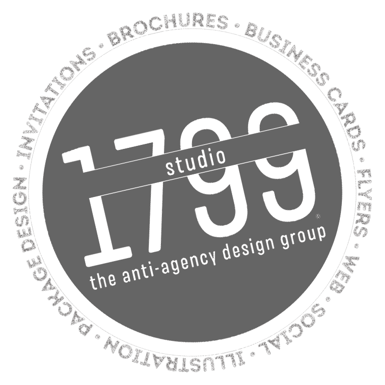 Studio 1799 | the anti-agency design group - Stamp Logo